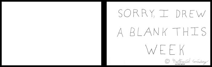 Drew a Blank