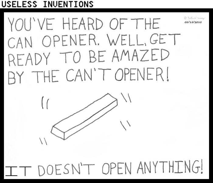 Useless Inventions - Can't Opener