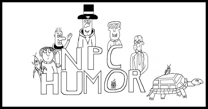 NPC Humor Logo