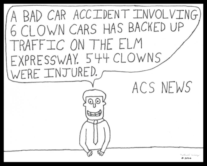 ACS News - Clown Cars