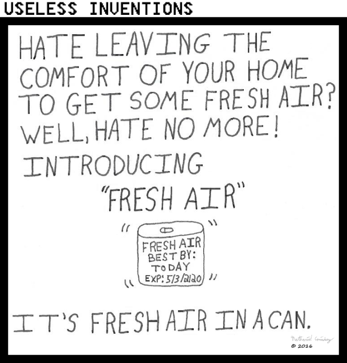 Useless Inventions - Fresh Air