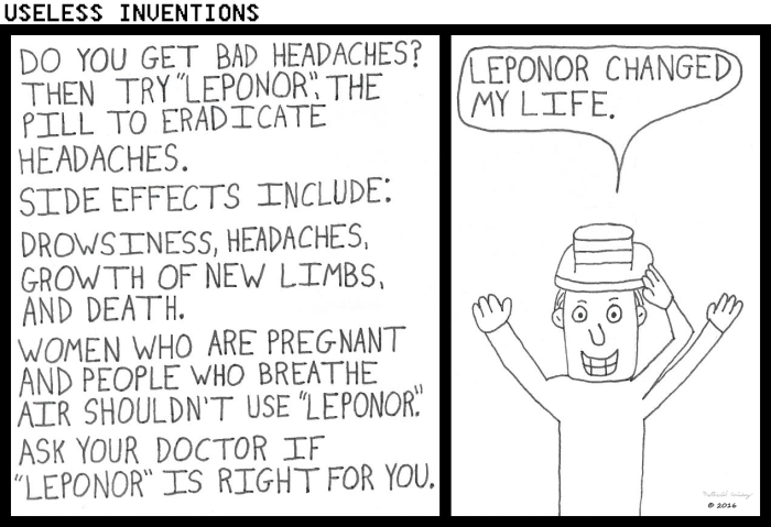 Useless Inventions - Leponor