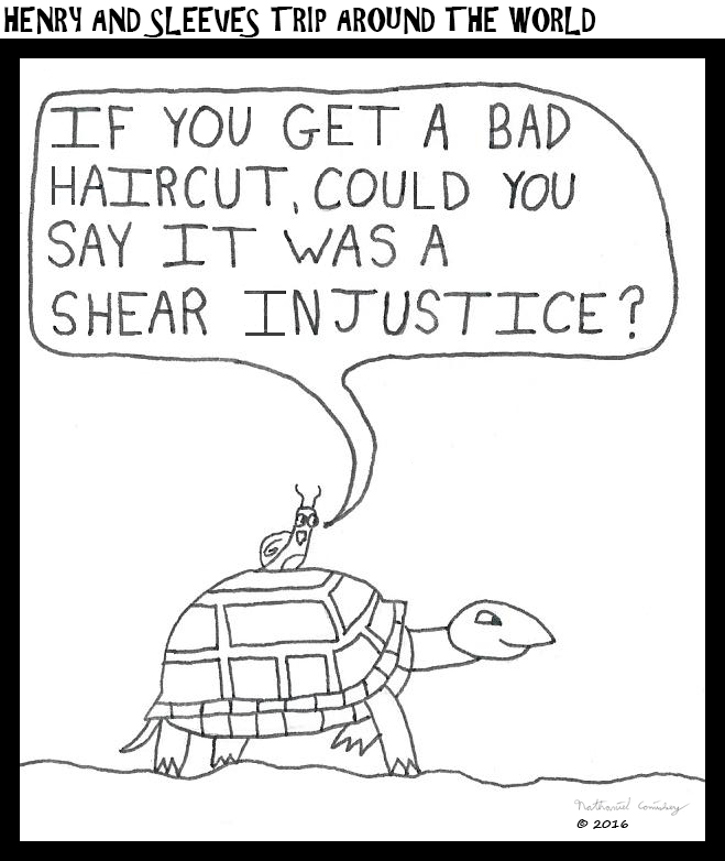 Henry and Sleeve - Haircut Injustice