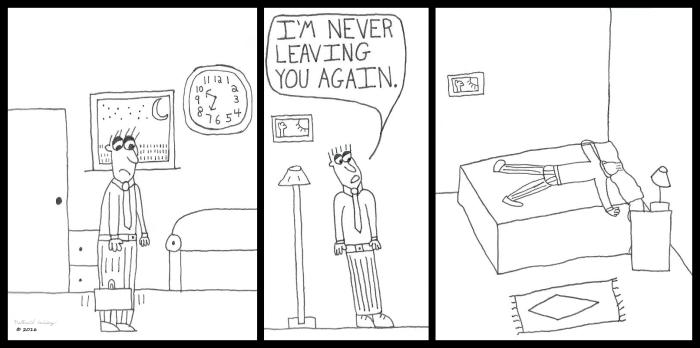 Never Leaving Again