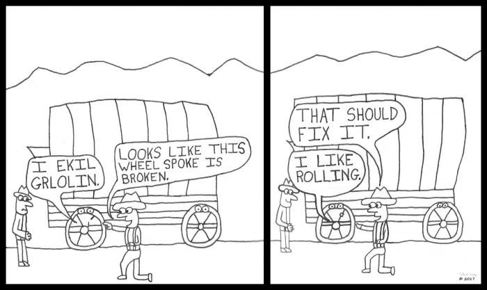 wheel-spoke