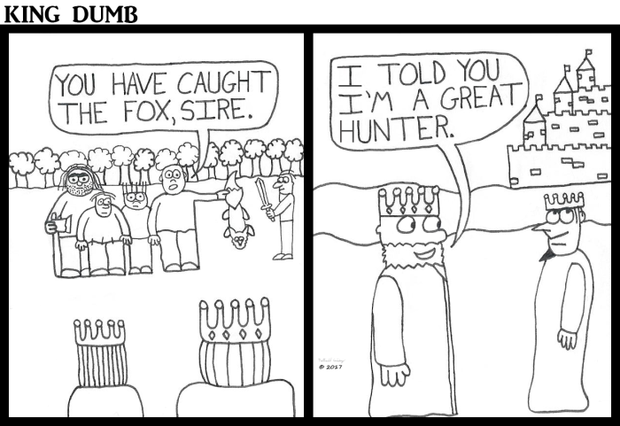 king-dumb-great-hunter