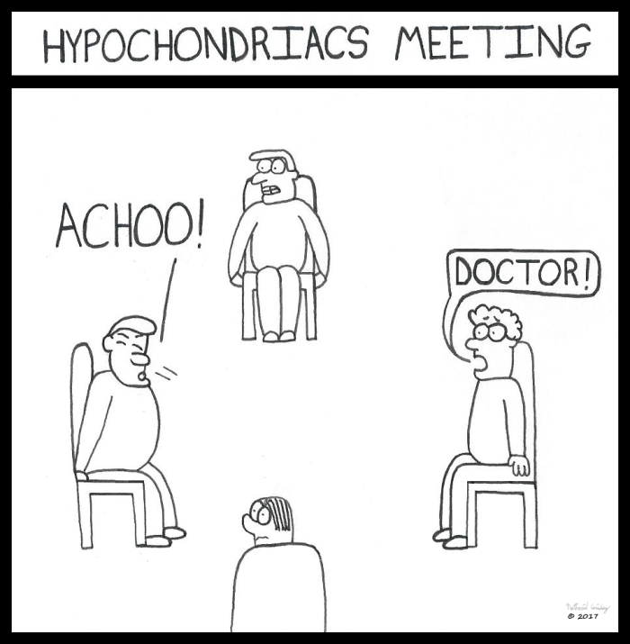 Hypochondriacs Meeting 1