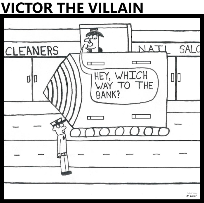 Victor - Directions to the Bank