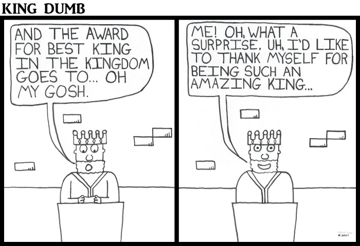 King Dumb - King Award