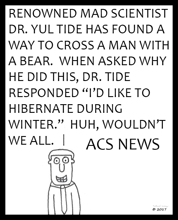 ACS News - Dr. Yule Tide