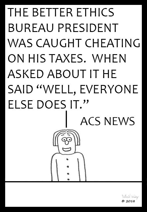 ACS News - Better Ethics Bureau President