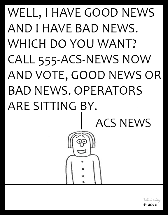 ACS News - Good News or Bad News