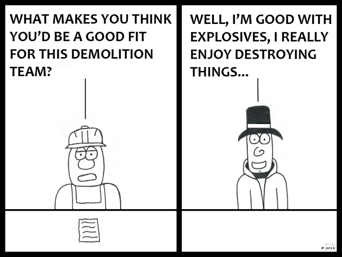 Victor - Demolition Interview