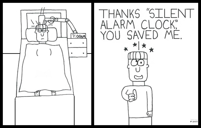 Silent Alarm Clock Follow Up