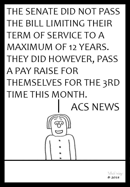 ACS News - Senate Term of Service