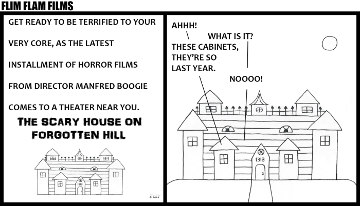 Flim Flam Films - The Scary House on Forgotten Hill