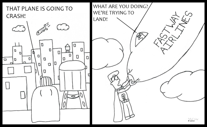 Superhero Airplane 2 - We're Trying to Land