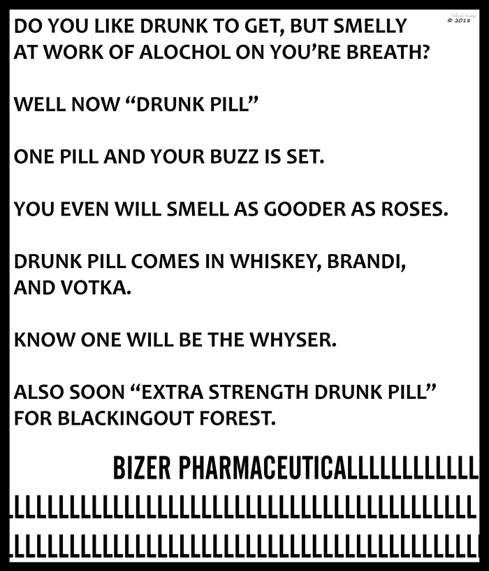 Bizer Pharmaceutical - Drunk Pill