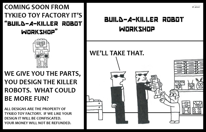 Tykieo Toy Factory - Build-A-Killer Robot