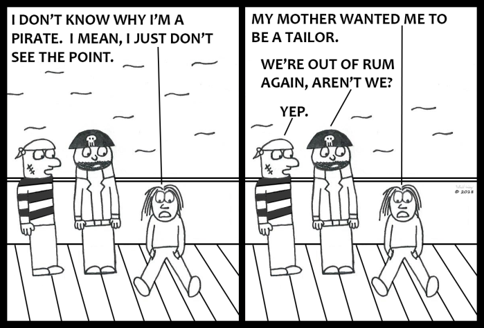 Sully, the Seasick Pirate - Why am I a Pirate