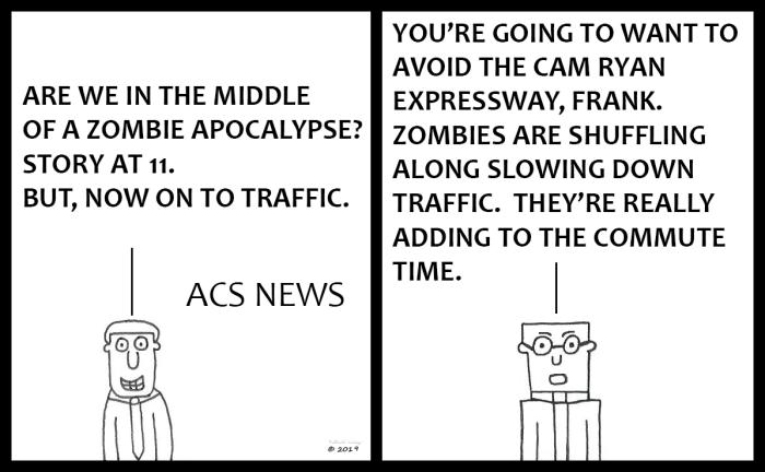 ACS News - Zombie Apocalypse