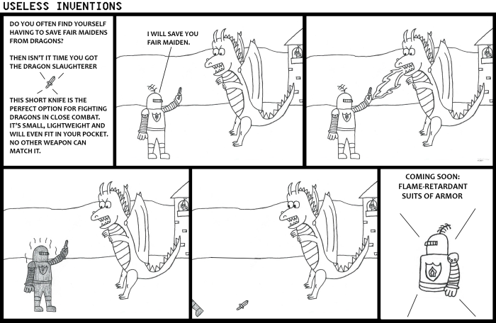 Useless Inventions - Dragon Slaughterer