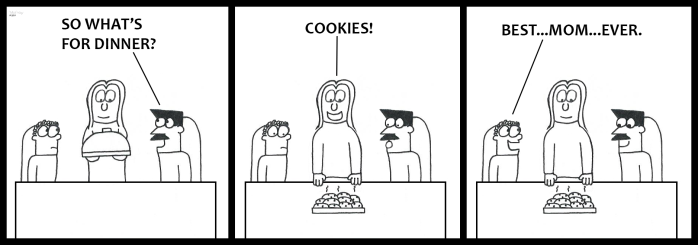 Cookies for Dinner