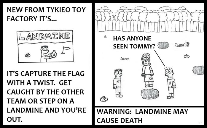 Tykieo Toy Factory - Landmine