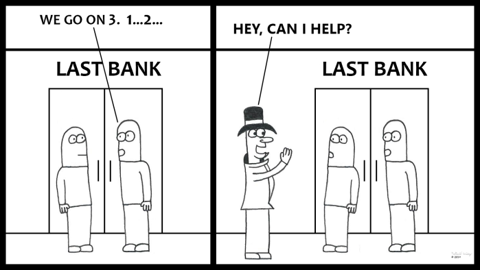 Victor Helps Rob A Bank