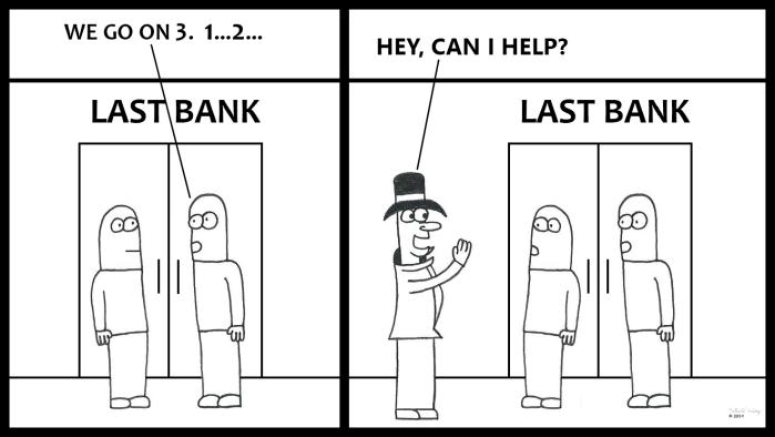 Victor Helps Rob A Bank