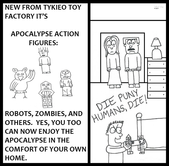 Tykieo Toy Factory - Apocalypse Action Figures