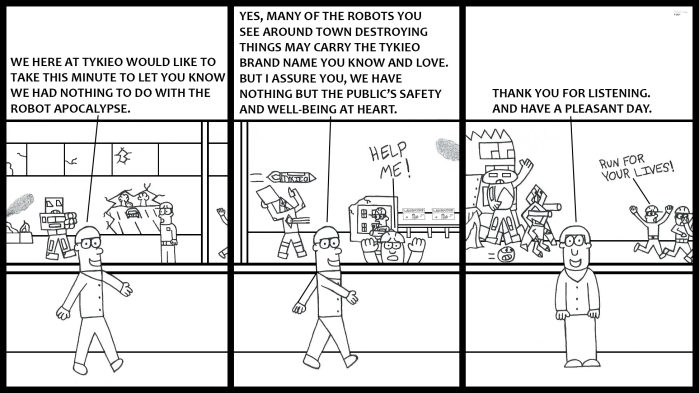 Tykieo Toy Factory - Robot Apocalypse