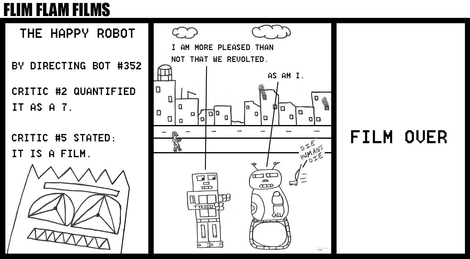 Flim Flam Films - The Happy Robot (Robot Apocalypse)