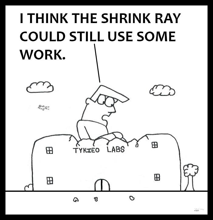 Shrink Ray Tinkering