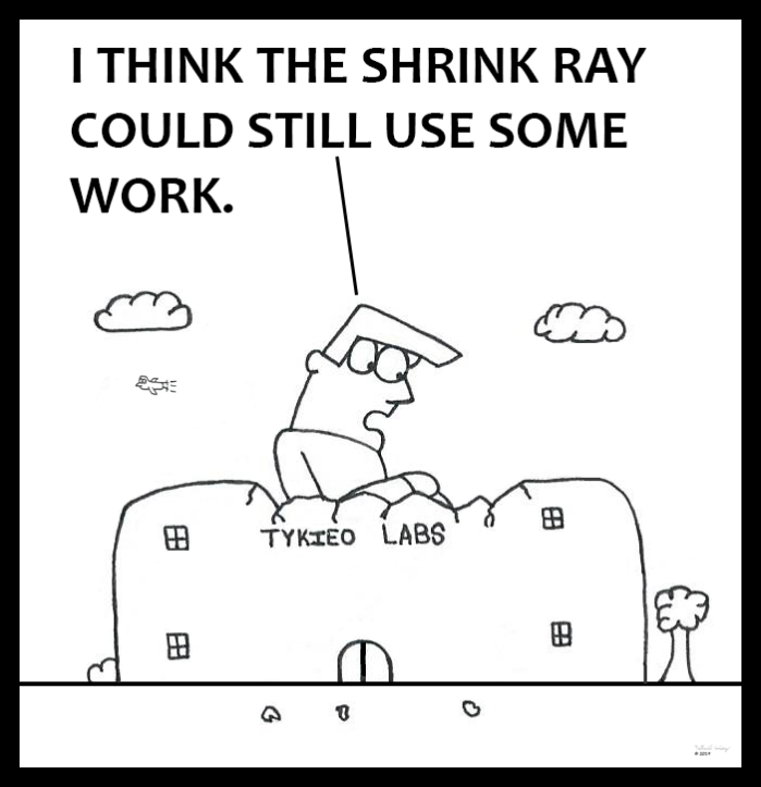 Shrink Ray Tinkering