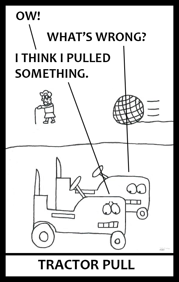 Tractor Pull - Ball of Twine 4