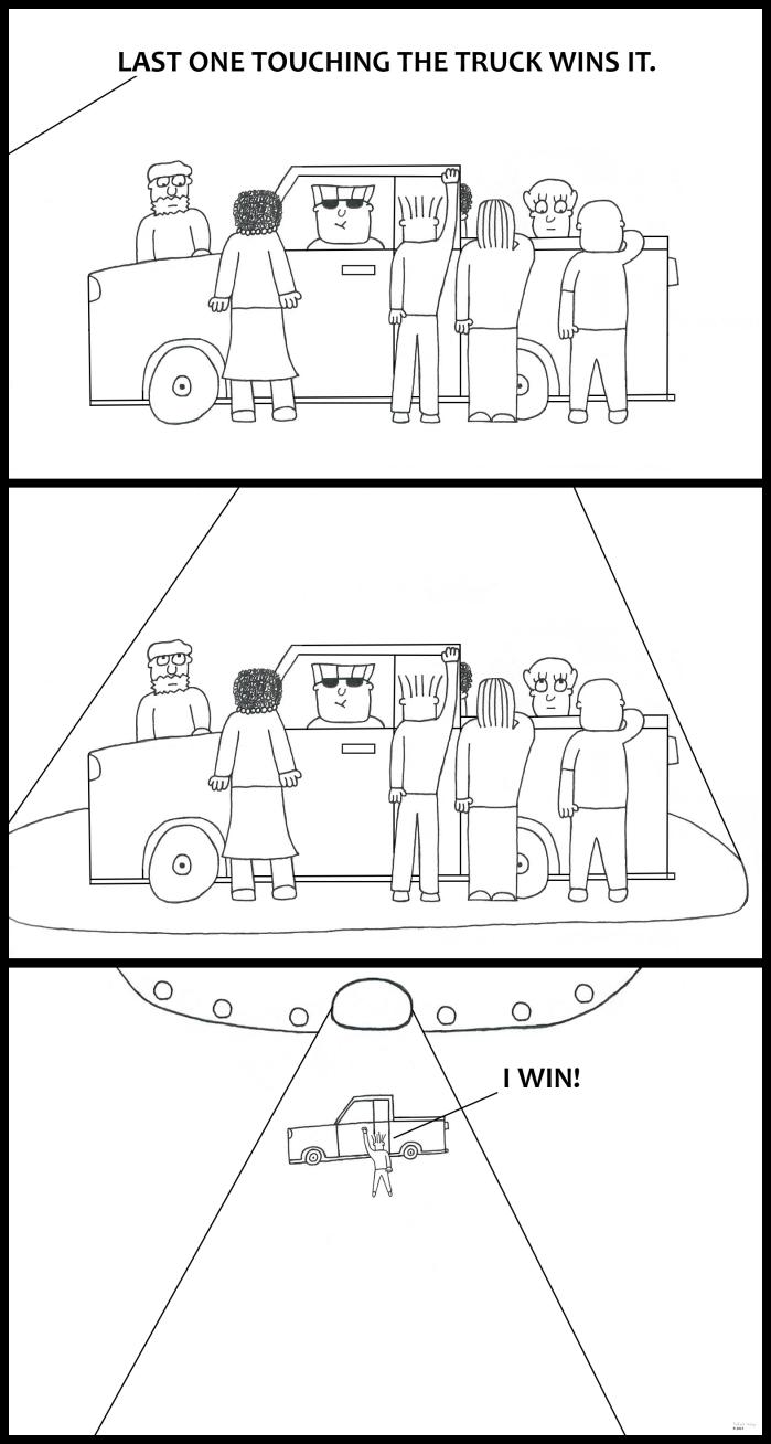 Alien - Win a Truck