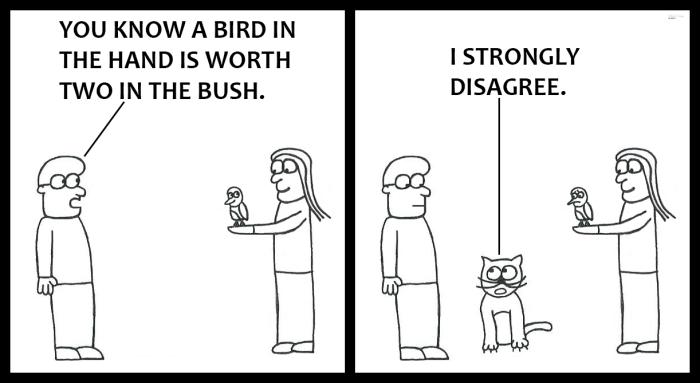 Bird in the Hand