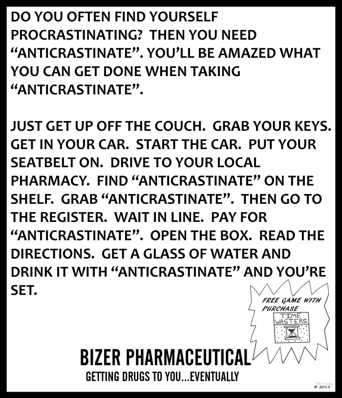 Bizer Pharmaceutical - Anticrastinate