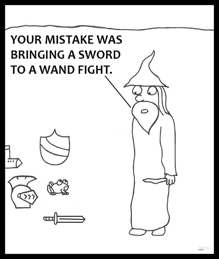 Wand vs Sword