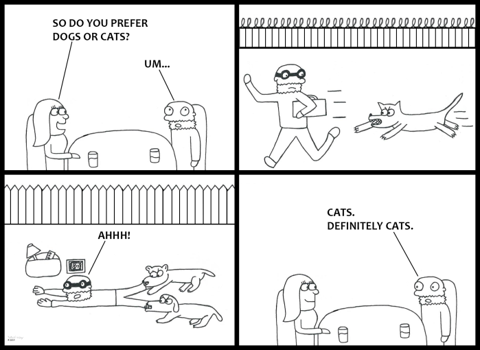 Dogs or Cats