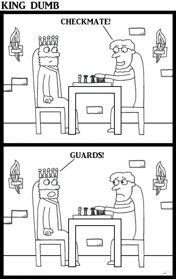 King Dumb - Checkmate