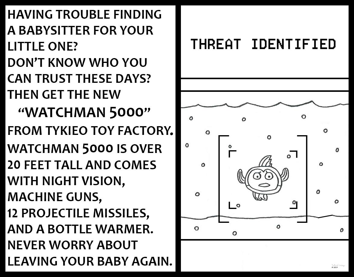 Tykieo Toy Factory - Watchman 5000