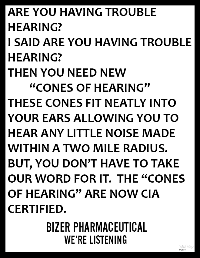 Bizer Pharmaceutical - Cones of Hearing