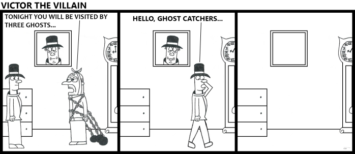 Victor Visited By Ghosts