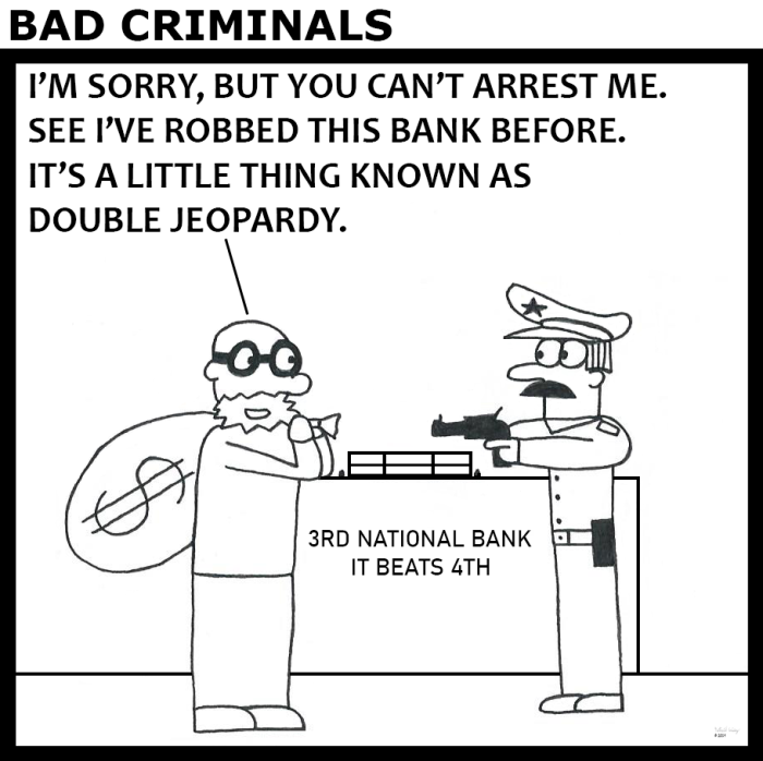 Bad Criminals - Double Jeopardy