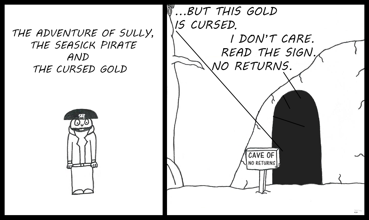 Sully, the Seasick Pirate - The Cursed Gold