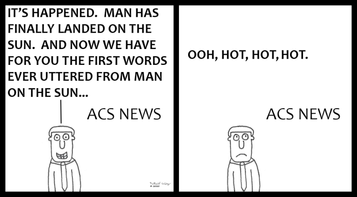 ACS News - Man on the Sun