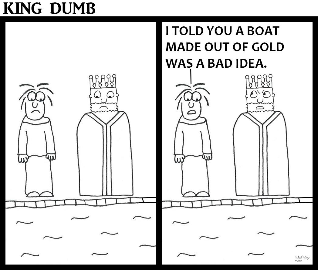 King Dumb - Gold Boat