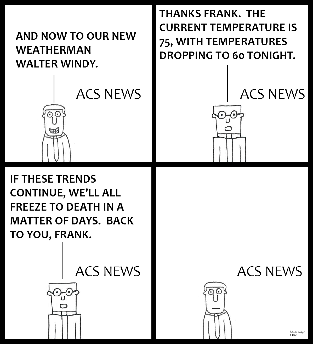 ACS News - Weather Trends